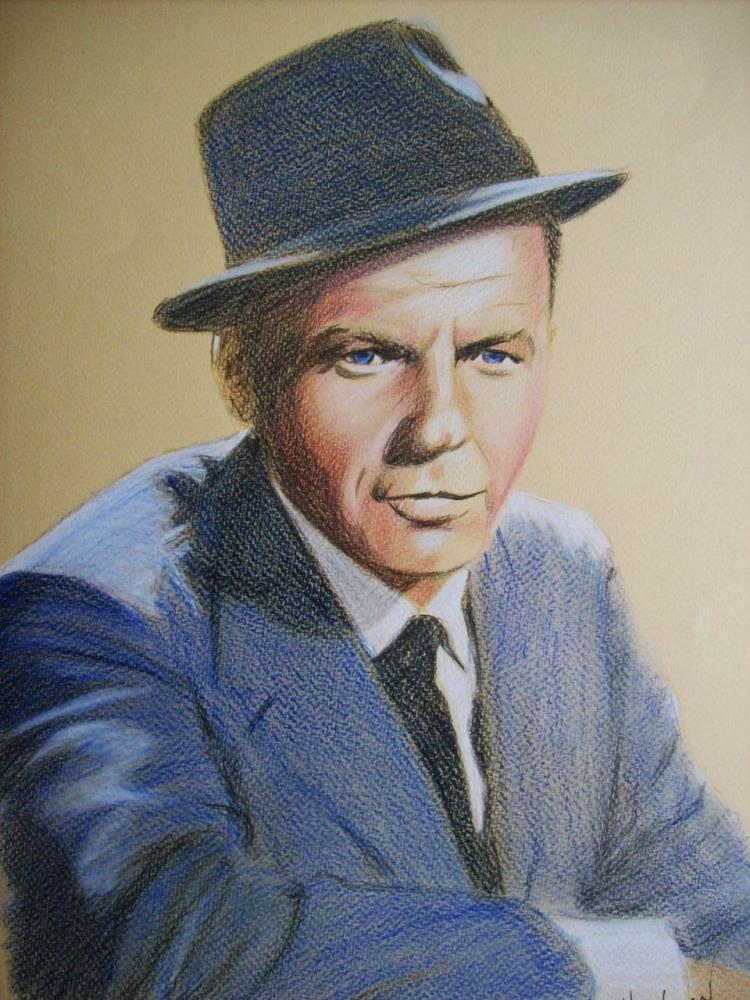Frank Sinatra by Tom-Heyburn